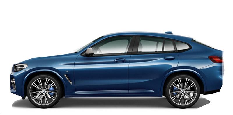 BMW X4 Pack M Rental Marbella