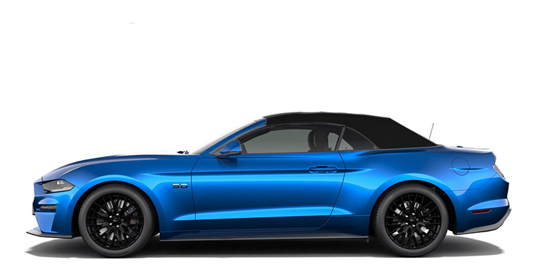 Ford Mustang GT Rental Marbella