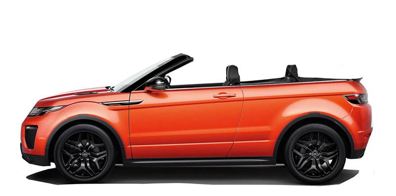 Land Rover Range Rover Evoque Cabrio Rental Marbella