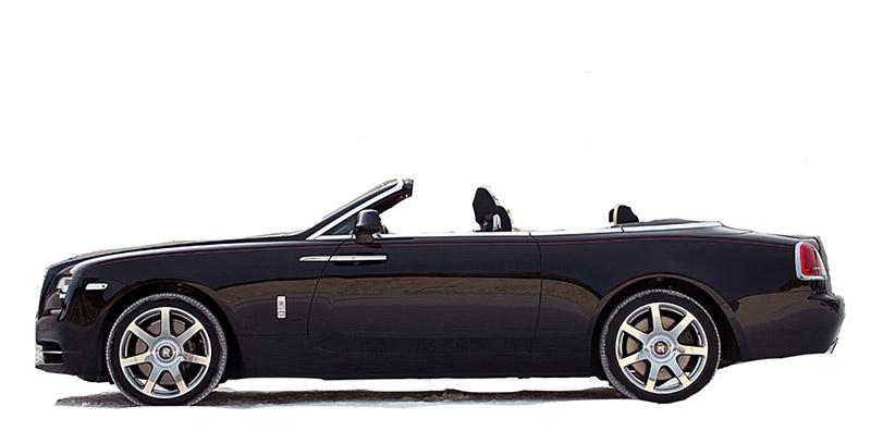 Rolls Royce Dawn Rental Marbella