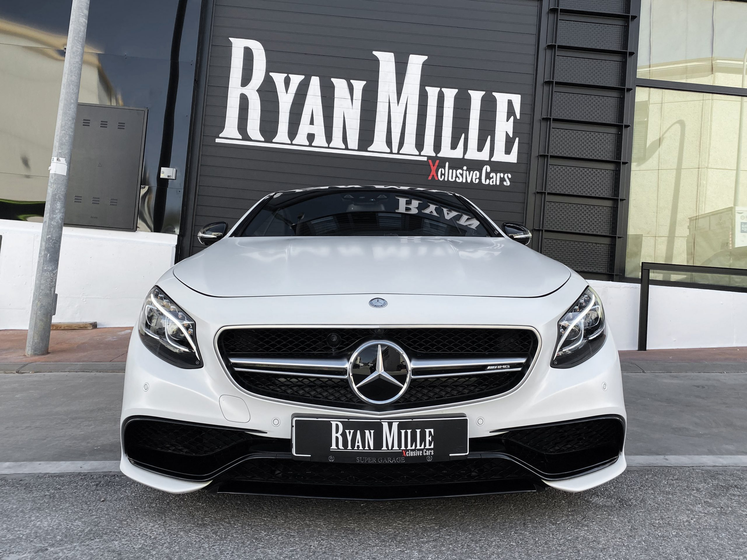 Mercedes Benz S63 Amg Coupe Ryan Mille Xclusive Cars