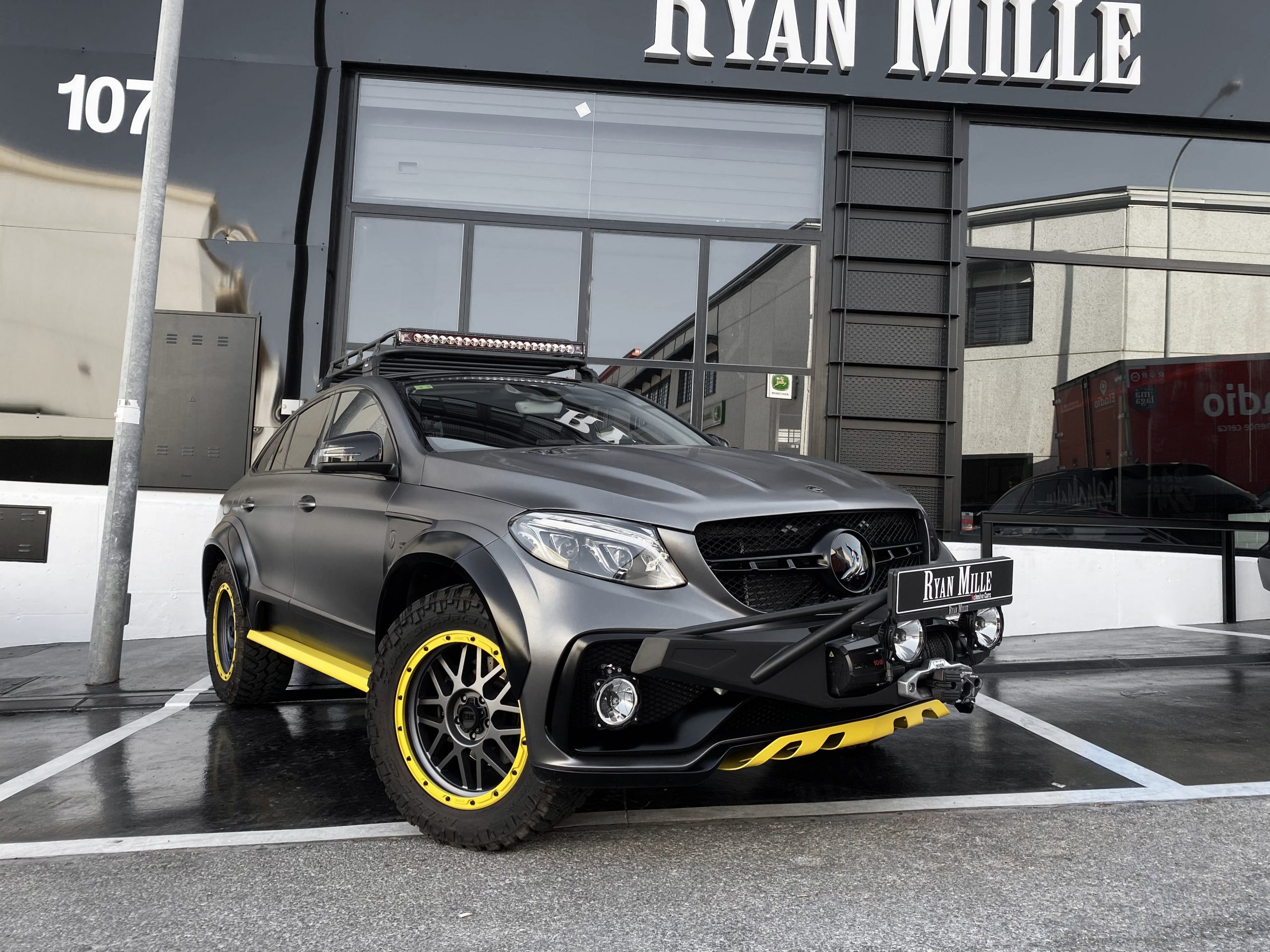 MERCEDES-BENZ GLE350 COUPE TOPCAR INFERNO