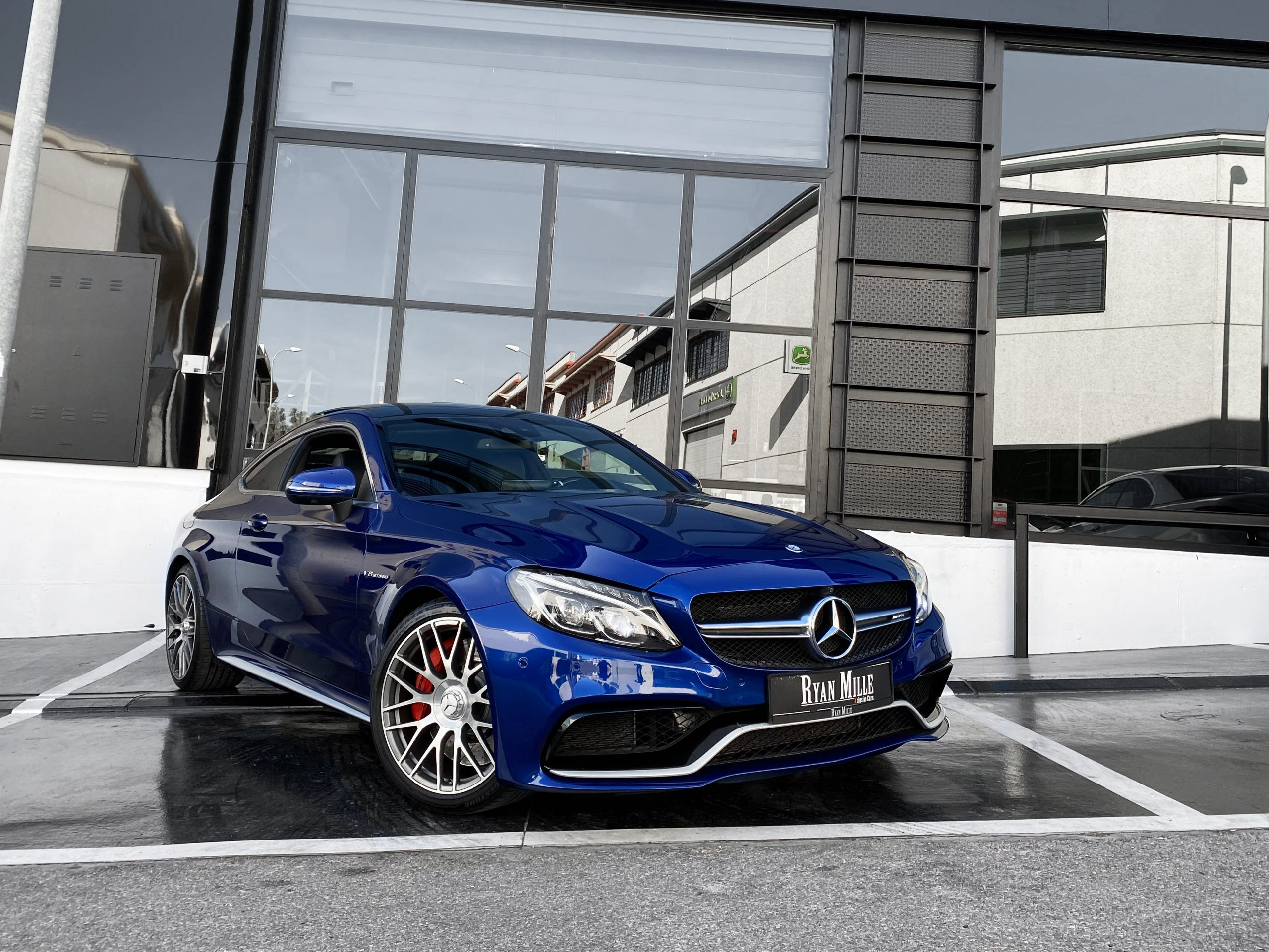 Mercedes Benz C63s Amg Coupe Ryan Mille Xclusive Cars