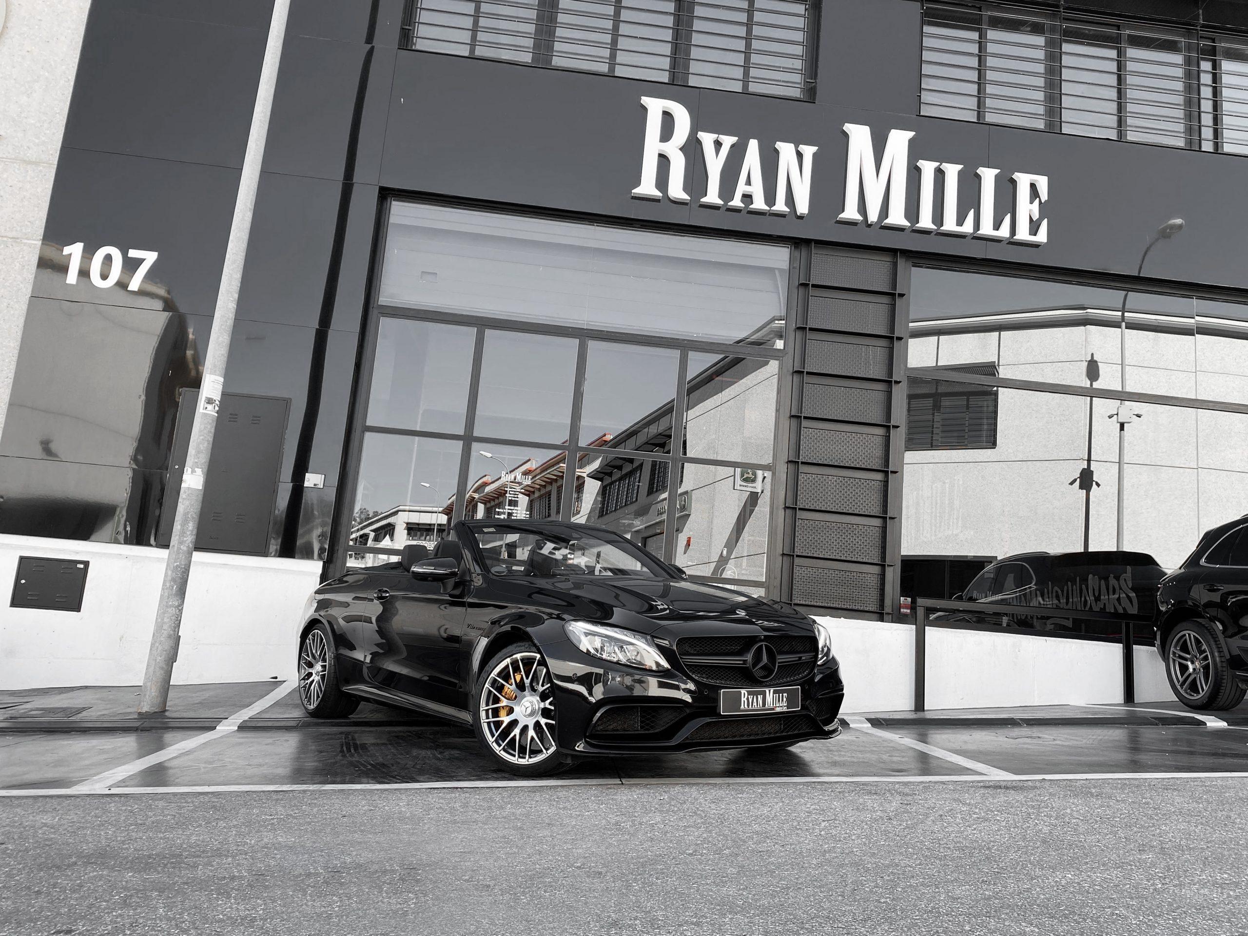 Mercedes-Benz C63S AMG Cabrio