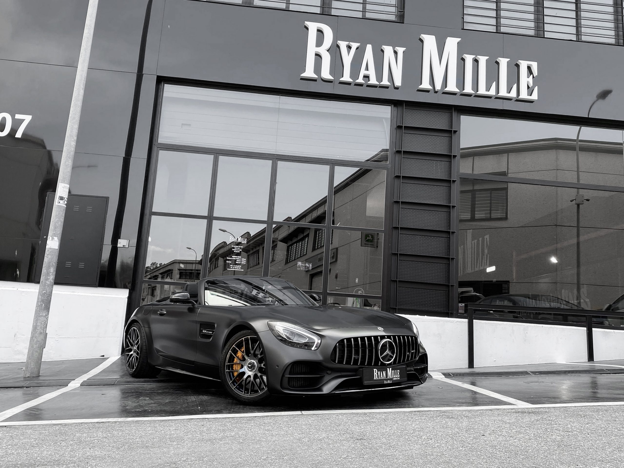 Mercedes-Benz AMG GT Roadster Edition 50